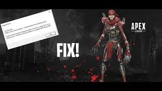 How to fix Apex Legends DFS Engine Error IN 20 SECONDS! SEASON 04 FEBUARY 2020