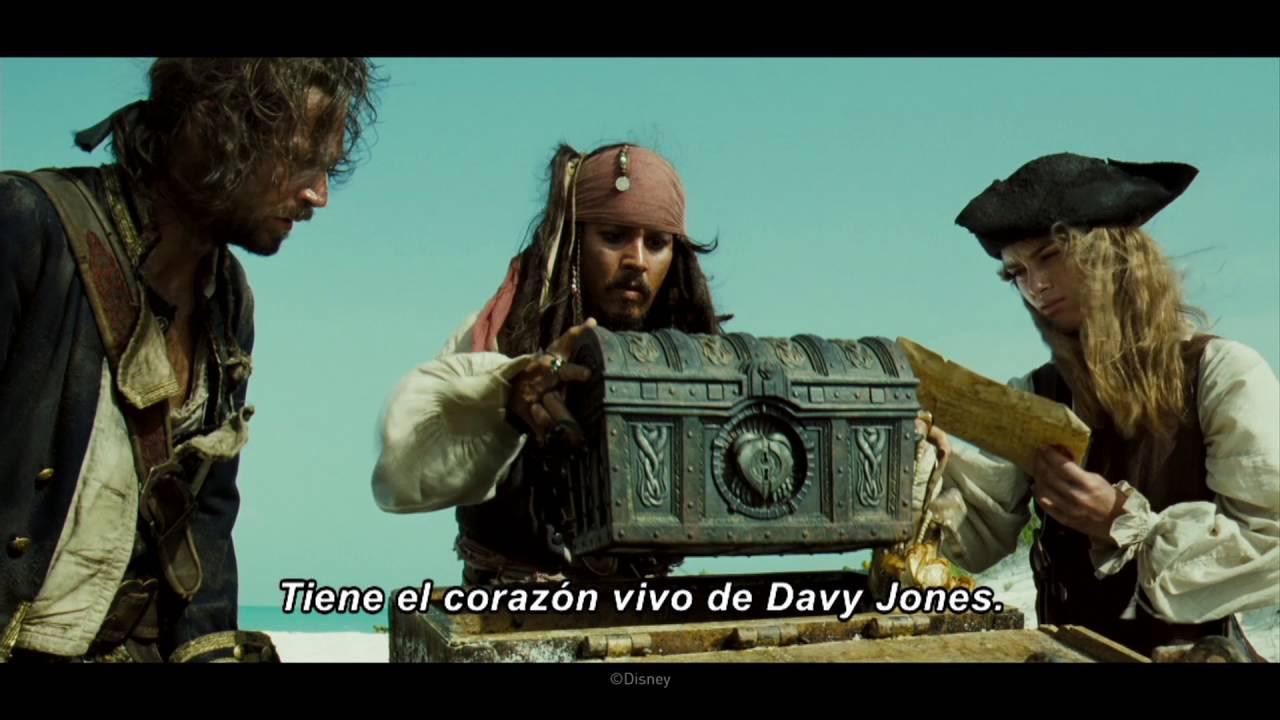 Película Piratas Del Caribe El Cofre De La Muerte Youtube