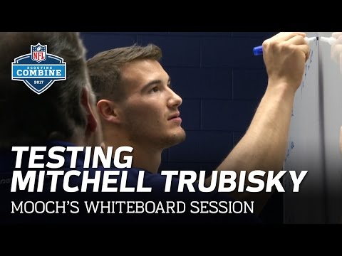 Testing Mitchell Trubisky's Football IQ with Steve Mariucci | Mooch's Whiteboard | NFL Network
