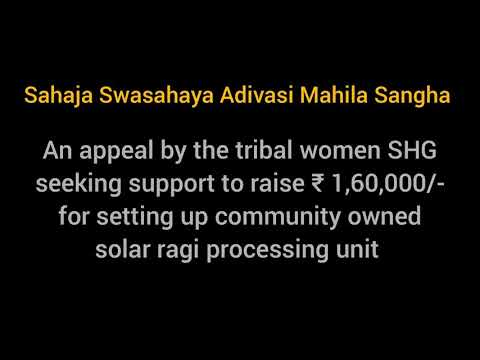 Adivasi Atmanirbaratha - Support to raise ₹1,60,000/-
