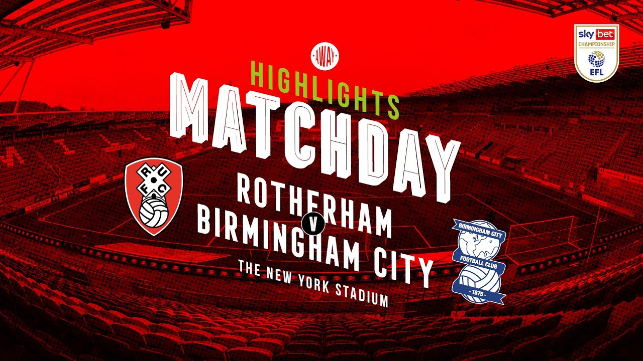 Ротерем Юнайтед  0-1  Бирмингем Сити видео
