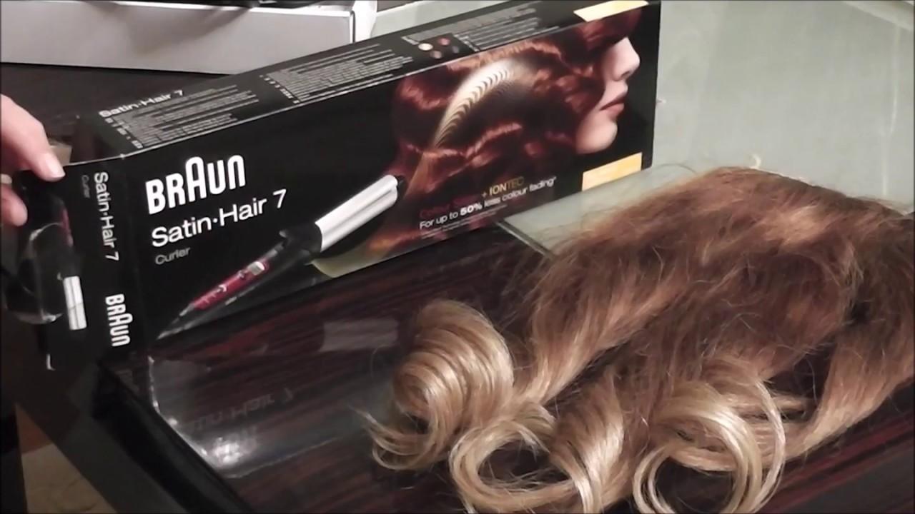 Braun Satin Hair 7 Sac Masasi 32mm Youtube