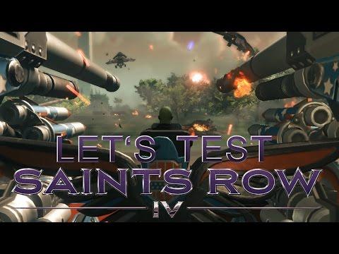 Let's Test #8 Saints Row IV (part II) White House down 2.0