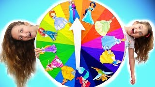 Magic Wheel Princesses Transformation | Mommy and her Dream | Super Elsa