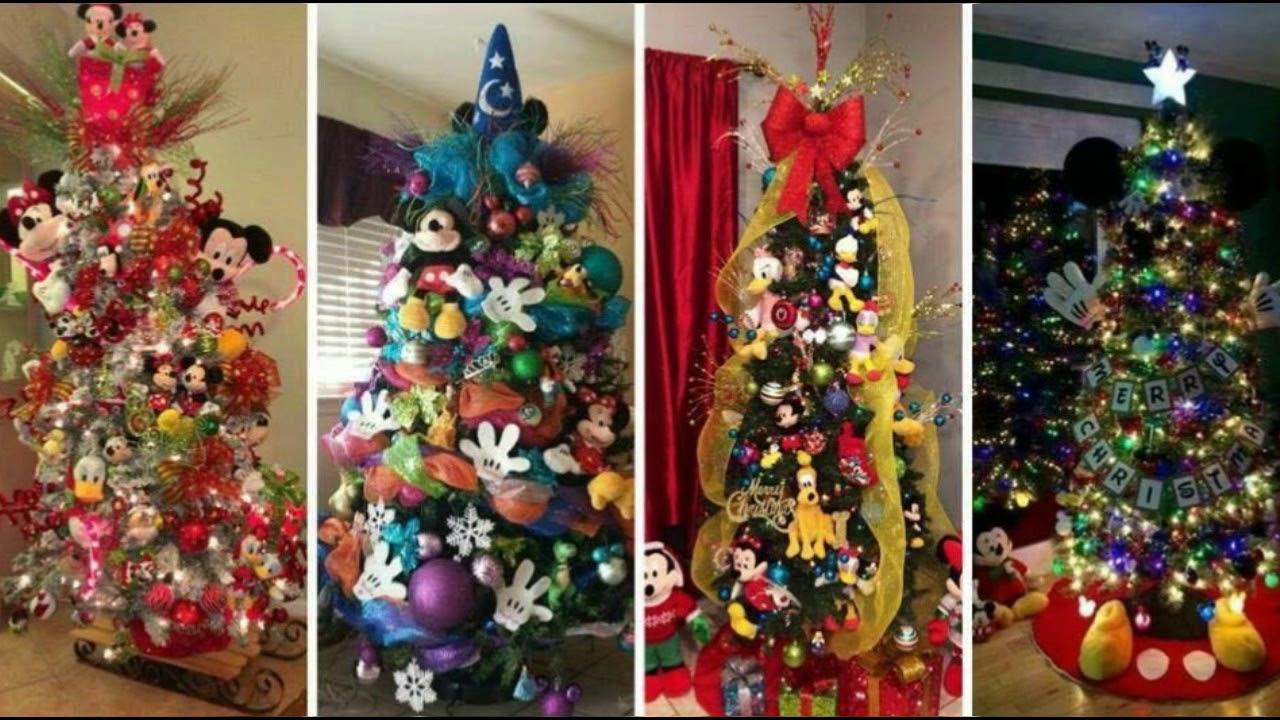 Decoraciones navide as de mickey mause youtube - Decoracion de navidad para oficina ...