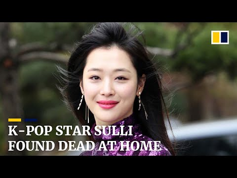 K-pop star Sulli found dead at home