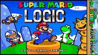ALL ONE SCREEN PUZZLES?! | Super Mario Logic (SMW ROM/Hack)