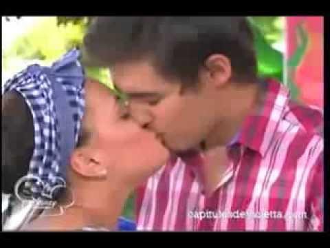Violetta 2 l on et lara s 39 embrasse youtube - Photo de leon et violetta ...