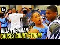Julian Newman CALLED OUT & CAUSES COURT STORM AGAIN! NEO GETS HEATED!