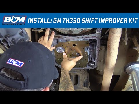 Install: B&M Shift Improver Kit for 1968-1981 GM TH350 Automatic Transmissions - Part # 30262