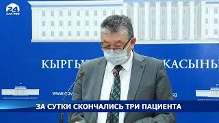 В Кыргызстане от коронавируса за сутки умерли 3 человека - Новости Кыргызстана