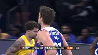 20.11.2018 / Anadolu Efes - Maccabi FOX Tel Aviv / Tibor Pleiss