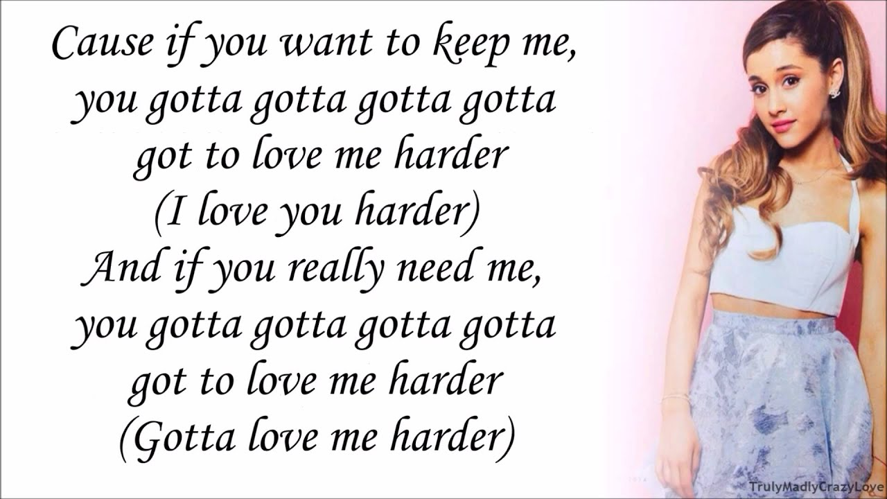 Ariana Grande Feat The Weeknd Love Me Harder With Lyrics Youtube
