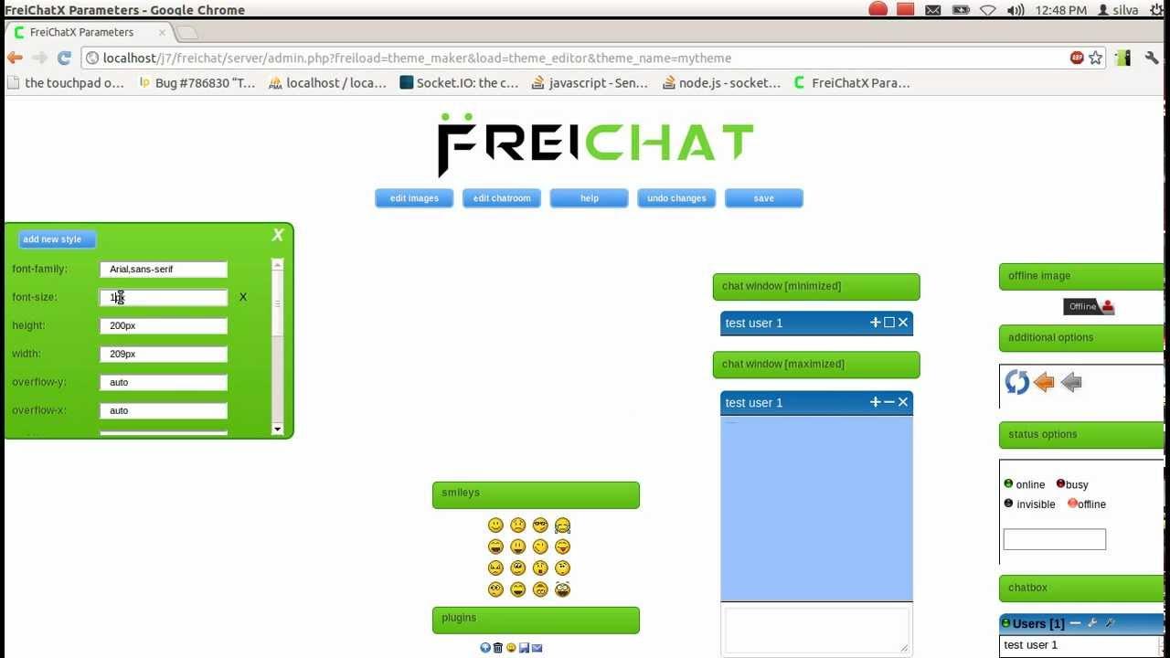Google themes maker - Freichat V 7 0 Theme Maker Usage