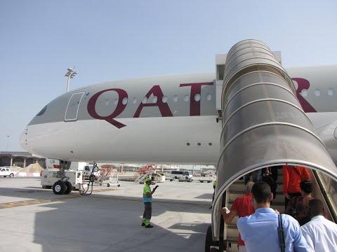 [Flight Report] QATAR AIRWAYS | Doha ✈ Paris | Airbus A350-900 | Business