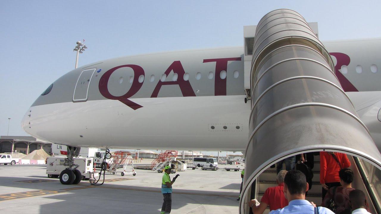 Flight report qatar airways doha ✈ paris airbus a