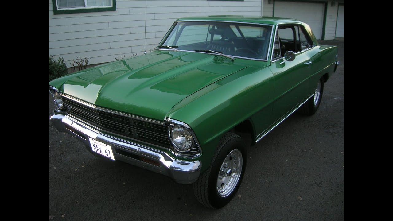 1967 Chevrolet Nova Hardtop - Nice Nice Old School Street Rod Style ...