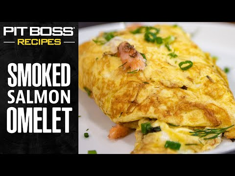 Smoked Salmon Omelet | Pit Boss Grills Recipes