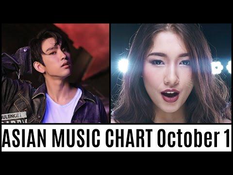 ASIAN MUSIC CHART October 2016 Week 1