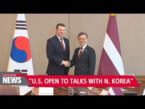 S. Korea's Moon says U.S. expressed willingness to talk to N. Korea