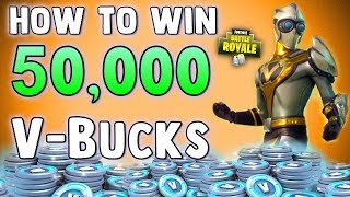 COMMENT À GET 50000 VBUCKS GRATUIT - NEW SKINS - Fortnite Battle Royale Solo Showdown Update