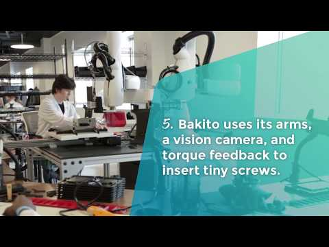How Collaborative Robots Work with Technicians in the Manufacturing Process at Bak USA