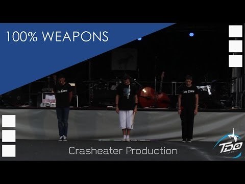 TDO Crew - 100% WEAPONS (Crasheater Production)