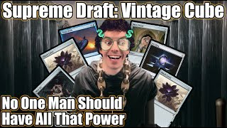 How To Play More Than One Sol Ring: MTGO Supreme Vintage Cube Draft