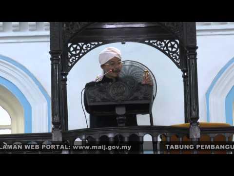 Khutbah Jumaat Masjid Pasir Pelangi Johor Bahru