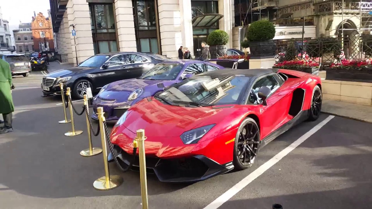 Super Cars Of London January Youtube