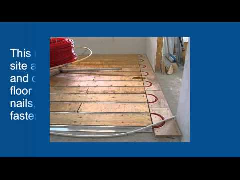 Advantages of ThermoFin U For Radiant Heated Floors