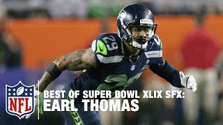 Earl Thomas | Super Bowl XLIX Highlights | Best of Sound FX | NFL
