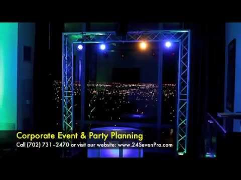 Las Vegas Corporate Party, Special Event Planning