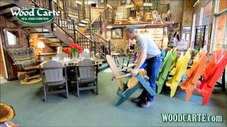 How To Unfold Your Folding Adirondack Chair!