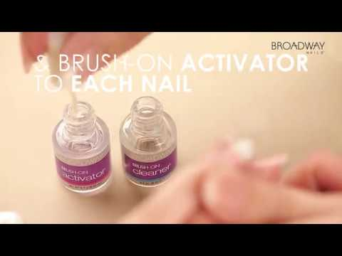 Get a diy gel manicure with broadway nails beginners brush on gel get a diy gel manicure with broadway nails beginners brush on gel nail kit solutioingenieria Image collections