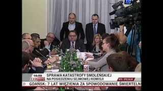 Posiedzenie Komisji Sprawiedliwości i Praw Człowieka 05.12.2012