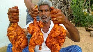 Chicken Tandoori | Recipe quick & easy Chicken Tandoori cooking by my dad | Basha kitchen