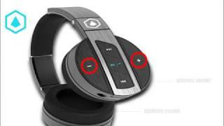 MODERN PORTABLE - HIFI ELITE Super 66 Bluetooth Headphones Quick Start Guide
