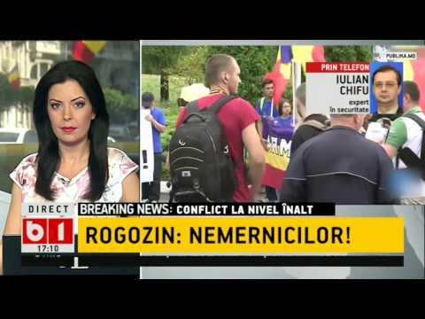 STIRI B1TV- SCANDAL DIPLOMATIC- RUSIA vs ROMANIA, ROGOZIN: Așteptați-vă la un răspuns, nemernicilor