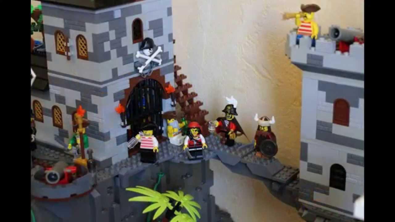 Lego Pirates Moc YouTube
