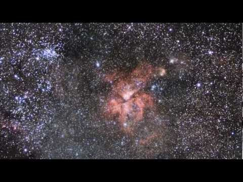 Carina Nebula in Infrared