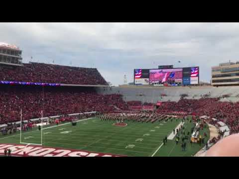 ‪Veterans Day at Camp Randall Stadium, 11 Nov 2017 2:35 pm, 115th Fighter Wing Wisconsin Air Nation