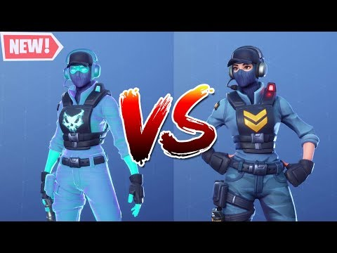 BreakPoint Vs Waypoint Fortnite Skin Comparison - Fortnite
