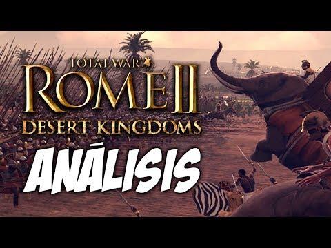 LISTA COMPLETA de UNIDADES | ROME 2 TOTAL WAR: REINOS del DESIERTO |