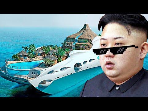 Как Ким Чен Ын тратит свои МИЛЛИАРДЫ