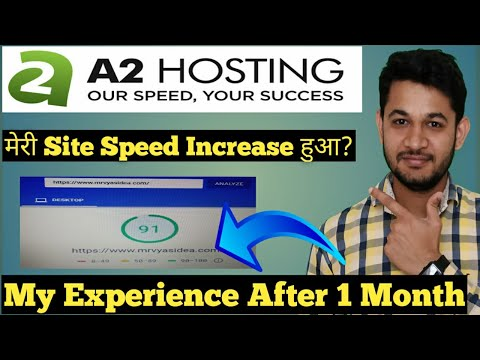A2 Hosting Review After 1 Month Use : Is it Really Worth?🤔