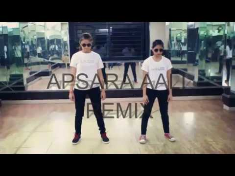 Apsara aali remix | Hip hop Dance | Shruti sharma and Heena sharma