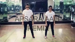 Apsara aali remix | Hip hop Dance | Shruti sharma and Heena sharma