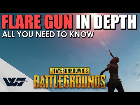 GUIDE: FLARE GUN - All you need to know - PUBG