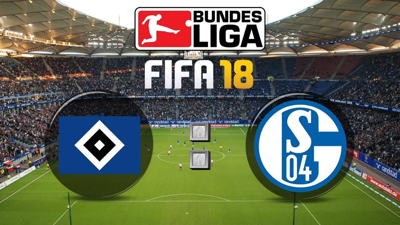 fifa 18 bundesliga hamburger sv fc schalke 04 gameplay. Black Bedroom Furniture Sets. Home Design Ideas